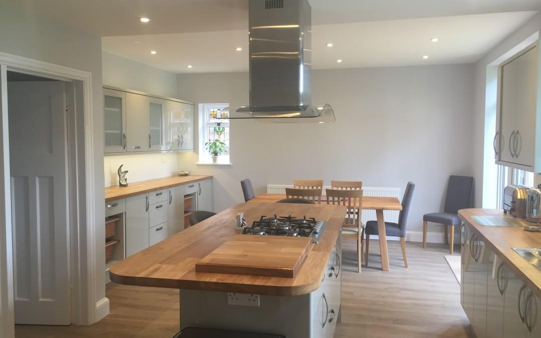 Remodelled kitchen, Tunbridge Wells